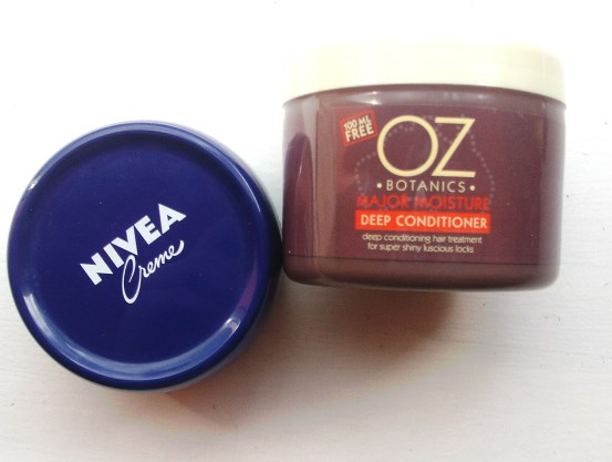 nivea and hairmask