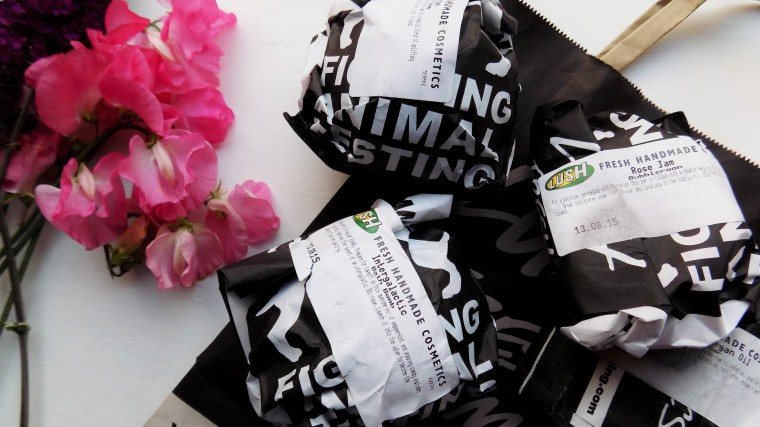 new lush products haul