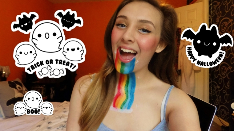 Snapchat Filter Halloween Costume Makeup Tutorial