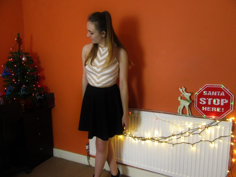 evening xmas outfit