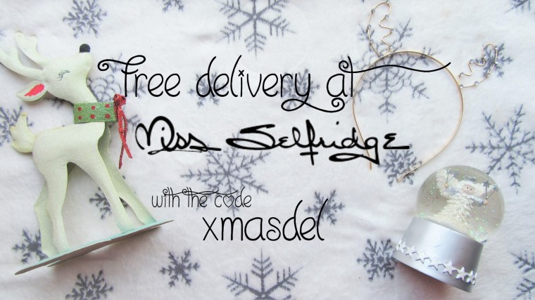 Miss Selfridge discount code