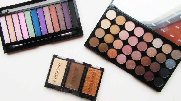 Brand Focus Makeup Revolution Eyeshadows