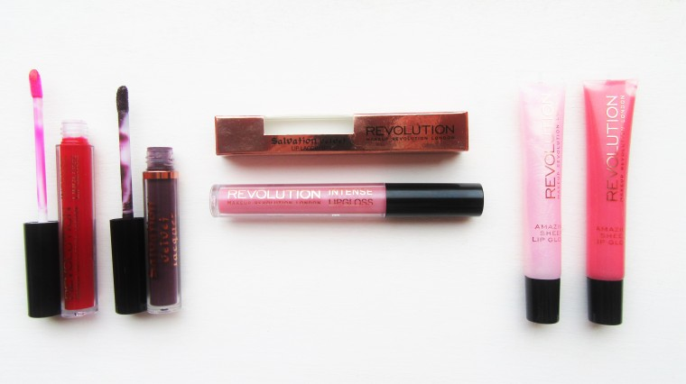 Brand Focus Makeup Revolution Lipglosses