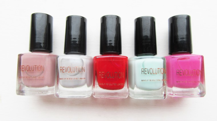 Brand Focus Makeup Revolution Nail Polishes